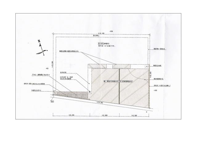 20170802アートスペースの設計図面