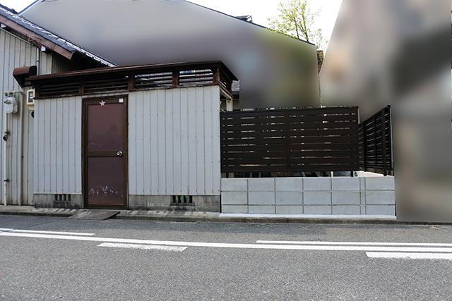 20180516アートスペースのフェンス工事02