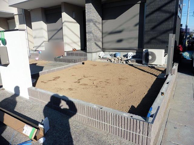 20180627アートスペースのフェンス工事03