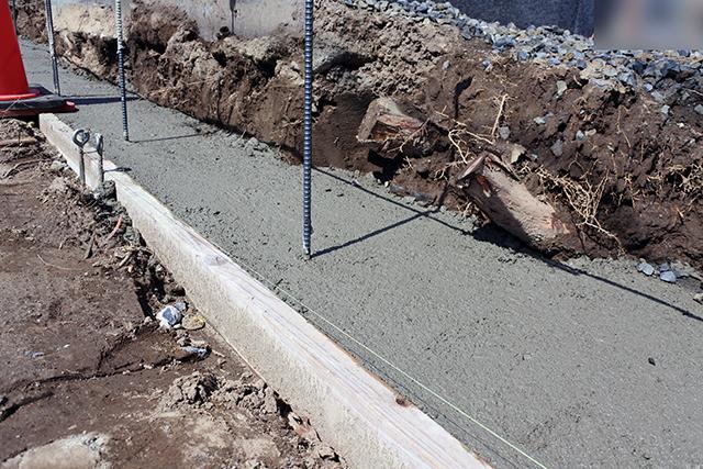 20180704アートスペースのフェンス工事04