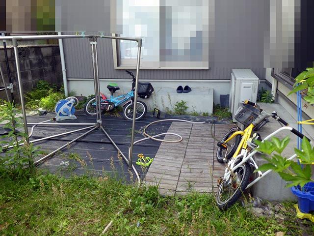 アートスペースの外構工事02