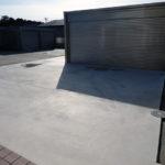 屋根付きガレージ20191225