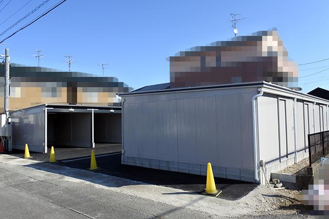 屋根付きガレージ_アートスペース07