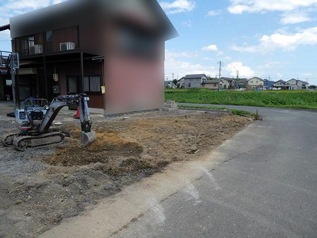 20180912庭の改修工事02
