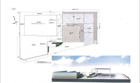 アートスペースの設計図面