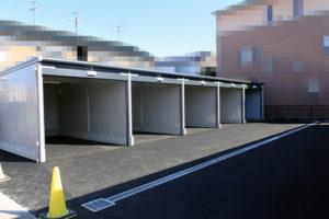 屋根付きガレージ_アートスペース10
